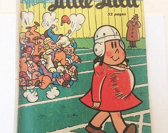Marges Little Lulu 1950 Football Thief Number 28 October Dell Golden Age vintage comic book