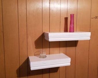 floating shelves -  set of 2,