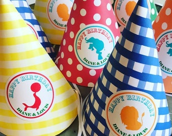 Circus Party Hats