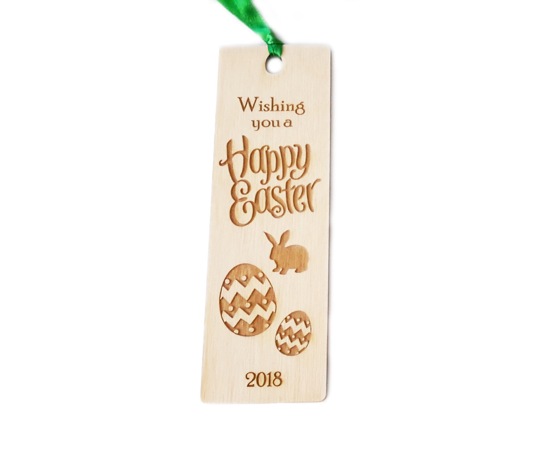 Easter wooden bookmark gift great easter gift for friends and easter wooden bookmark gift great easter gift for friends and family alternative to chocolate negle Choice Image
