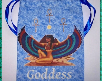 Goddess Tarot Card Bag, Ideal for most Angel, Fairy Or Wicca Cards