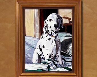 """11"""" x 14"""" or 14"""" x 14"""" Commissioned Pet Portrait"""