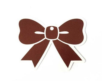 Bow paper gift tags, wedding and favor tag, Choose amount