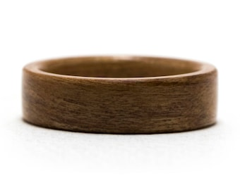 Cherry Wood Ring, Bentwood Ring, Wooden Ring