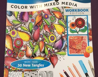 Sale! Zentangle 9 Color with Mixed Media was 8.95 now 6.50