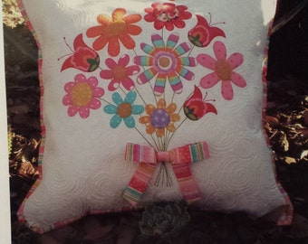 Thank You Pillow Pattern by Don't Look Now-FREE US SHIPPING!
