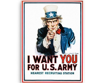 Uncle Sam on Canvas
