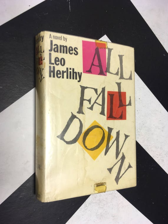 All Fall Down by James Leo Herlihy vintage fiction novel (Hardcover, 1960)