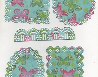 117 - Set of ornaments for your cards or scrapbooking