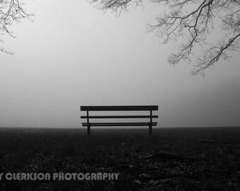 Game Abandoned. Fine art photograph on aluminium. Wall art. Wall decor. Contemporary art. Black and White London photography. Monochrome