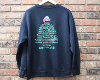 Planet Hollywood 1995 Holiday Sweatshirt Rare Men's Large
