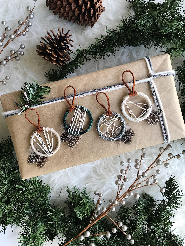 Woodland Ornamente nordischen Schneefall Ornamente moderne