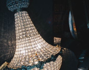 Stunning Antique French Empire Chandelier Beautiful Vintage Light Interior Design Feature