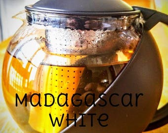 Madagascar White Coconut Loose Leaf Tea - Organic (50 cups, 100 grams)