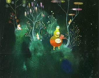 Cosmic Garden Limited Edition Print