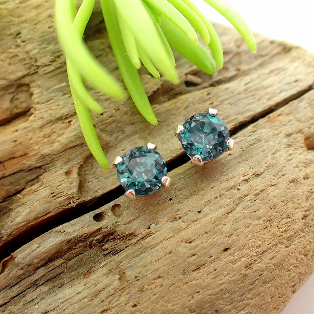 end high earrings jewellery alexandrite nordhoff stud natural d