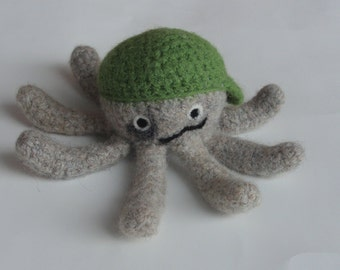 Little Boy Octopus - PDF PATTERN
