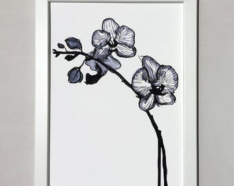 Print - Inky Orchid
