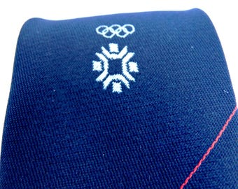 The official tie from Olympic Games in Sarajevo + GIFT!