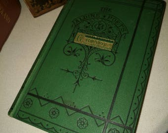 Antique Poetry Book , The Poetical Works of Thomas Gray , Vintage Poetry Book , Decorative Book