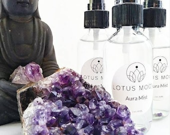 Smokeless Smudging Spray with Clary Sage and Lavender