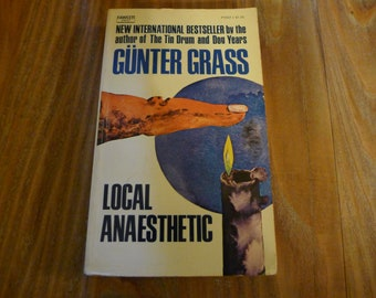 GUNTER GRASS Local Anaesthetic BOOK