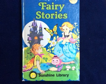 Fairy Stories, vintage book by Enid Blyton.