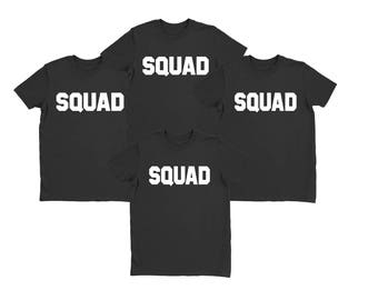 Custom Squad Shirts // View Item details for order instructions