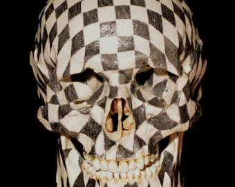 Chess Skull Replica
