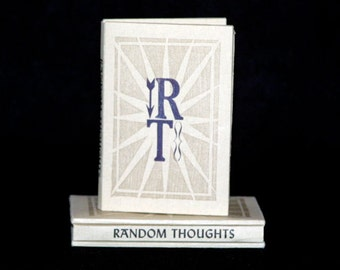 The Little Book of Random Thoughts - Limited Edition Handmade Letterpress Printed Book