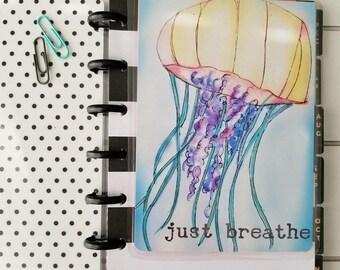 Just Breathe -Jellyfish Planner Dashboard