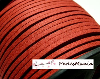 10 m of Red PG0022 quality suede cord