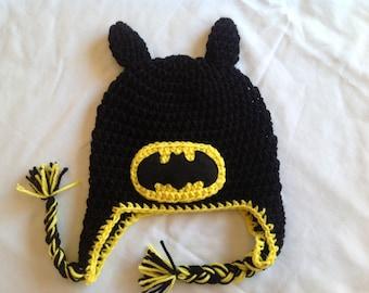 Crochet batman hat etsy batman crochet super hero hat dt1010fo
