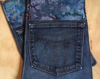 Hot pads- repurposed jeans