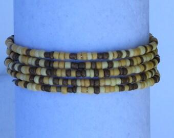 E-1690  Indian Corn beaded bracelet