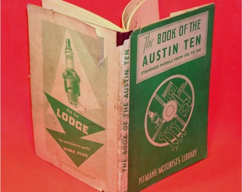 The Book of the Austin 10 Models from 1932 to 1937 by Pitman's Motorists Library