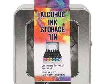 Ranger Ink - Tim Holtz - Alcohol Ink Storage Tin