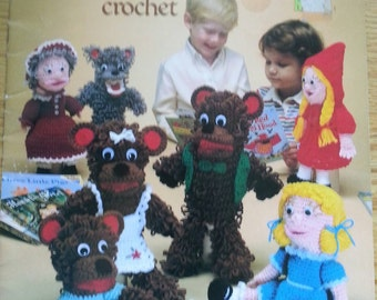 Story Book Puppets to crochet
