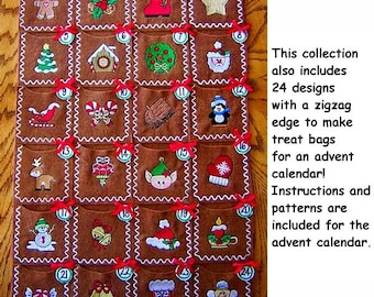 Merry Little Christmas Collection- 75 Machine Embroidery Designs!