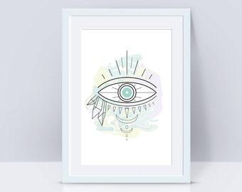 Third Eye Print