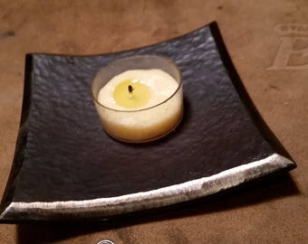 Hand Forged Tealight candle holder