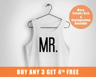 Mr and Mrs vest, wifey and hubby vest, Just Married Personalized vests, date vest, Bride and Groom, Wedding Gift,Married since tee,
