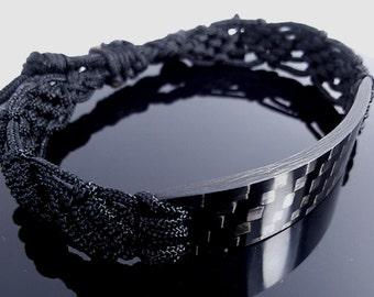 Carbon Fiber Bracelet, Mens Bracelet, Gift for Men, Gift for Him, Gift For Boyfriend, Mans Gift, For Him, Boyfriend Gift, Gifts for Dad,