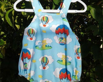 Baby Romper size 0-3 months Hot Air Balloons