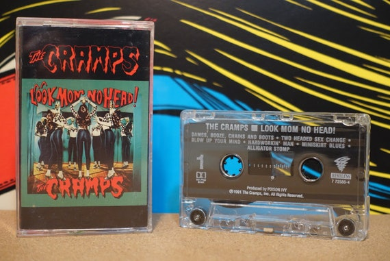 Look Mom No Head! by The Cramps Vintage Cassette Tape