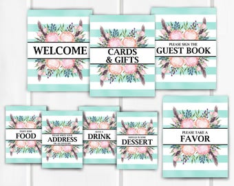 Baby Shower Signs, Baby Shower Decor, Item 241
