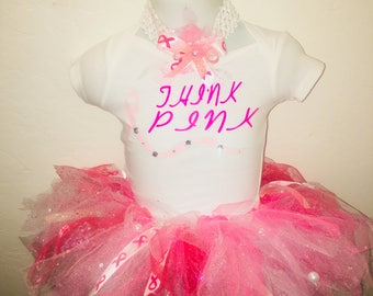 Think Pink Breast Cancer Awareness set