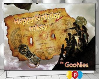 Personalised Goonies Birthday Card