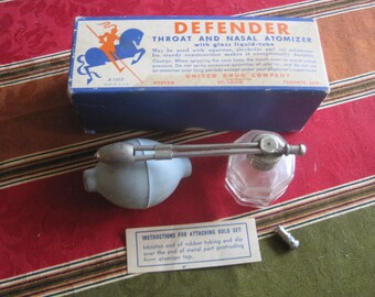Vintage Defender Throat & Nasal Atomizer R-1507
