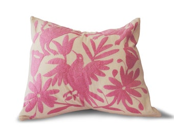 Pink Otomi Pillow cover